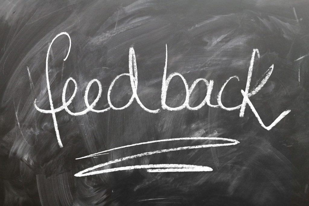 Need more feedback?