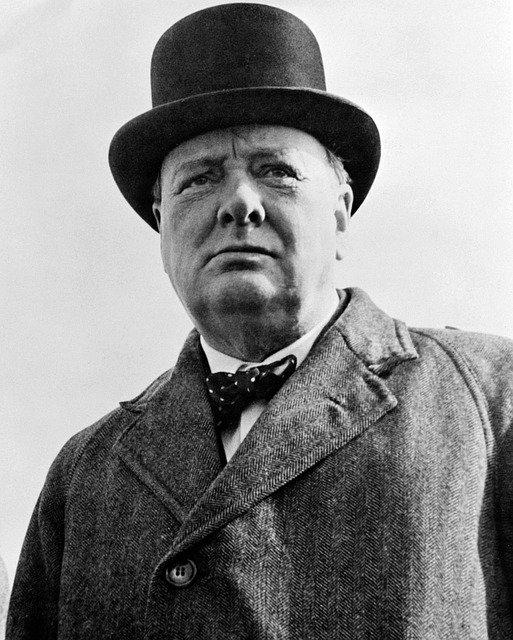 Sir Winston Churchill, an example of a bureaucratic leader